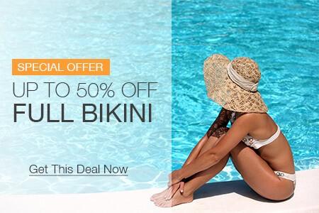 Save on brazilian and bikini laser hair removal, includes bikini line